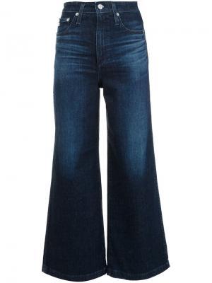 Расклешенные джинсы Ag Jeans. Цвет: синий