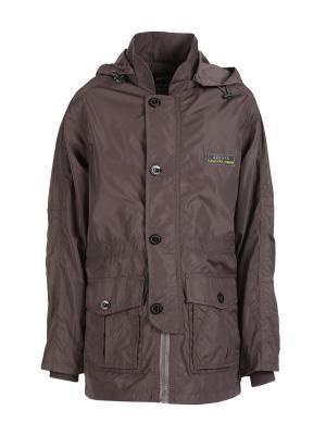 Куртка Arista. Цвет: коричневый