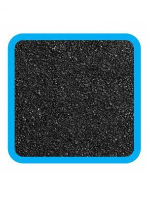 Грунт натуральный черный песок, 1-2мм. LAGUNA. Цвет: черный