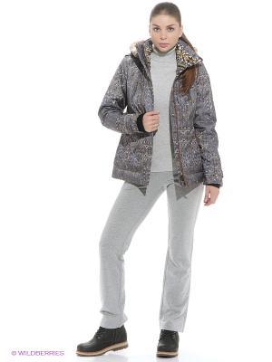 Куртка Stayer. Цвет: серый, бежевый