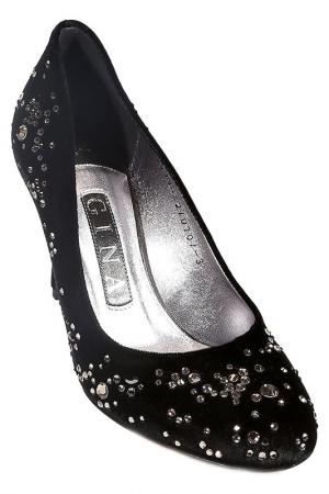 Туфли Gina. Цвет: черный