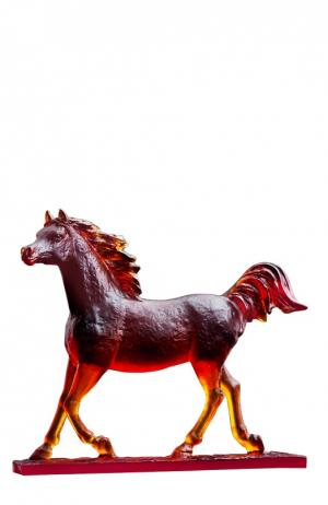 Скульптура Le Majestueux Daum. Цвет: коричневый