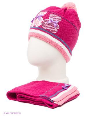 Комплект Maxval. Цвет: малиновый, розовый, белый