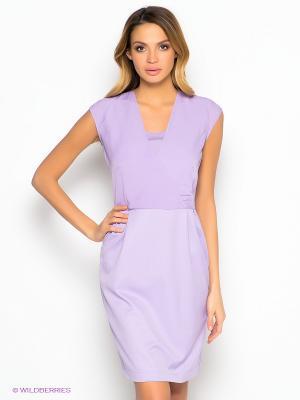 Платье Capriz. Цвет: сиреневый