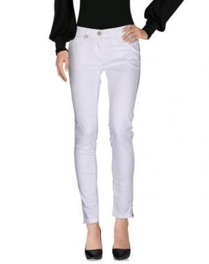 Повседневные брюки DEK'HER. Цвет: белый