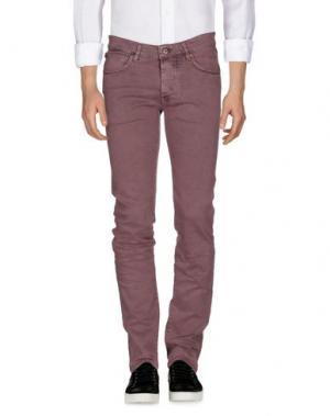 Джинсовые брюки ROŸ ROGER'S. Цвет: светло-фиолетовый