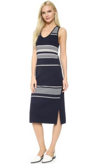 Платье Decolete O'2nd. Цвет: темно-синий