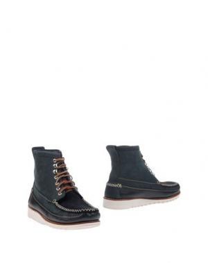 Полусапоги и высокие ботинки G.H. BASS & CO. Цвет: грифельно-синий