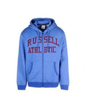 Толстовка RUSSELL ATHLETIC. Цвет: синий