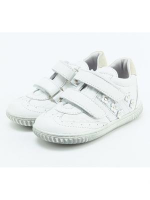 Ботинки King Boots. Цвет: белый