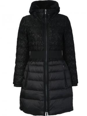 Пуховое пальто Juniper Zac Posen. Цвет: чёрный