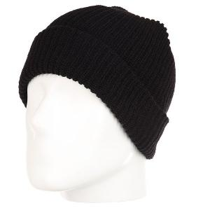 Шапка  Commodity Beanie Black Airblaster. Цвет: черный