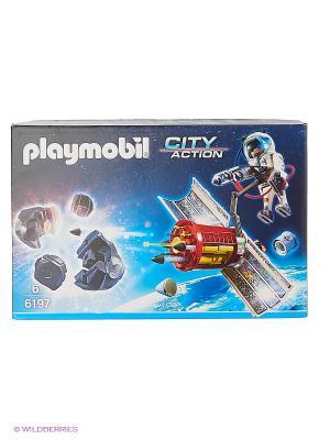 Космическая миссия: Спутниковый метеороидный лазер Playmobil. Цвет: красный