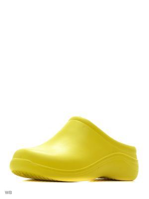 Галоши ANRA. Цвет: желтый