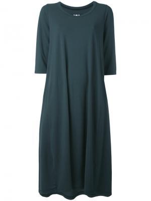 Платье шифт средней длины Labo Art. Цвет: зелёный