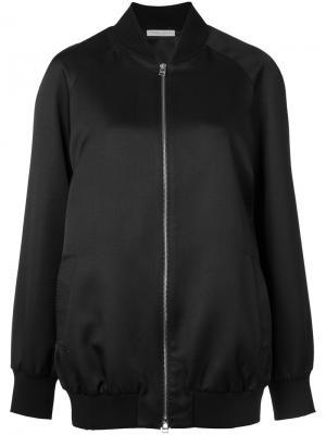 Куртка-бомбер Showroom Barbara Casasola. Цвет: чёрный