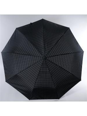 Зонт Zest. Цвет: черный, антрацитовый, темно-серый