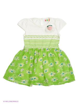 Платье Kidly. Цвет: зеленый