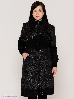 Пальто VERDA. Цвет: черный