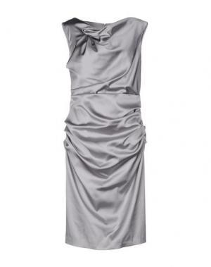 Платье до колена TALBOT RUNHOF. Цвет: светло-серый