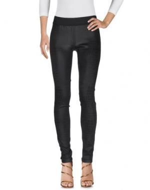 Джинсовые брюки GOLDSIGN. Цвет: темно-коричневый