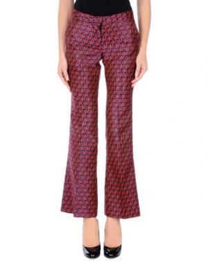 Повседневные брюки GIULIETTE BROWN. Цвет: оранжевый