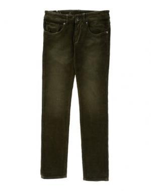 Повседневные брюки (+) PEOPLE. Цвет: зеленый-милитари
