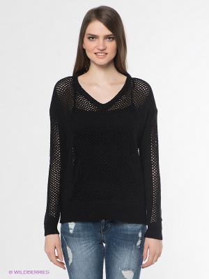 Пуловер Vero moda. Цвет: черный