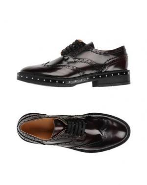 Обувь на шнурках LEONARDO PRINCIPI. Цвет: красно-коричневый
