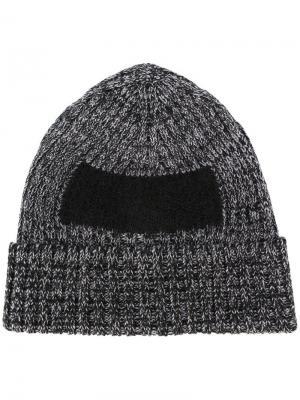 Классическая шапка бини Oamc. Цвет: чёрный