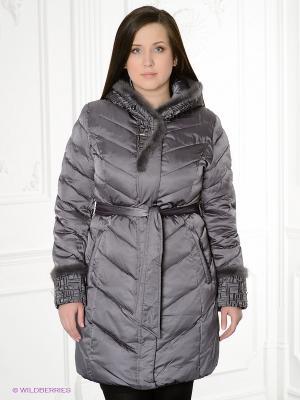 Пальто City Classic. Цвет: серый