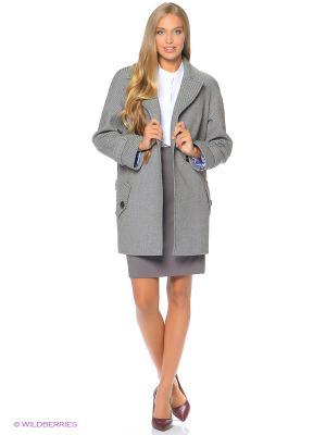 Пальто Anora. Цвет: серый