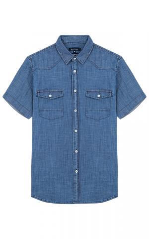 Мужская джинсовая рубашка Jorg weber