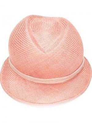 Шляпа Ava Gigi Burris Millinery. Цвет: розовый и фиолетовый