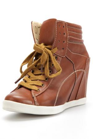 Кроссовки Andrea Conti. Цвет: brown