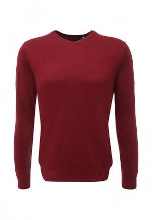 Пуловер Sela. Цвет: бордовый