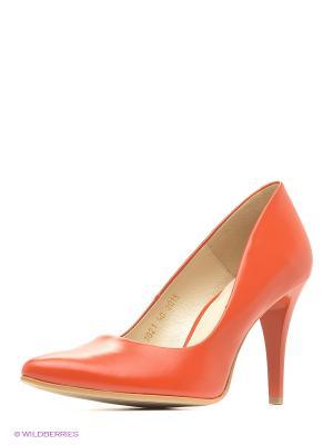 Туфли Goergo. Цвет: коралловый