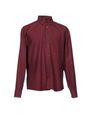 Pубашка UMIT BENAN. Цвет: красно-коричневый