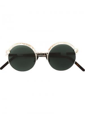 Солнцезащитные очки Z1 Kuboraum. Цвет: металлический