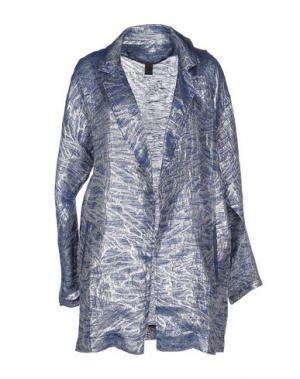 Легкое пальто JIJIL. Цвет: грифельно-синий