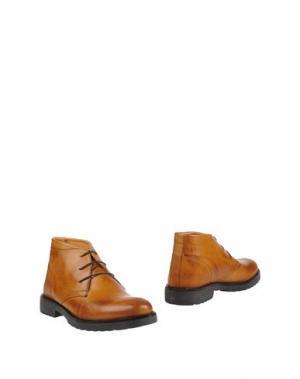 Полусапоги и высокие ботинки ALV ANDARE LONTANO VIAGGIANDO. Цвет: верблюжий