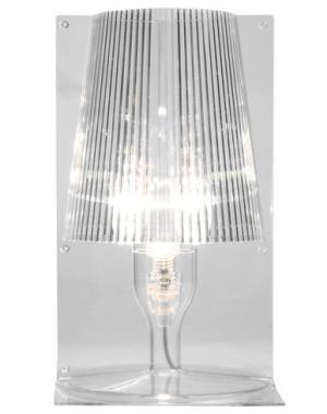 Настольная лампа KARTELL. Цвет: прозрачный