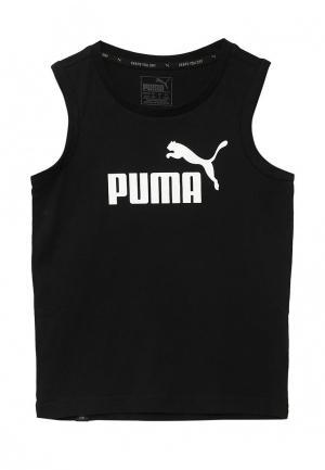 Майка спортивная PUMA. Цвет: черный