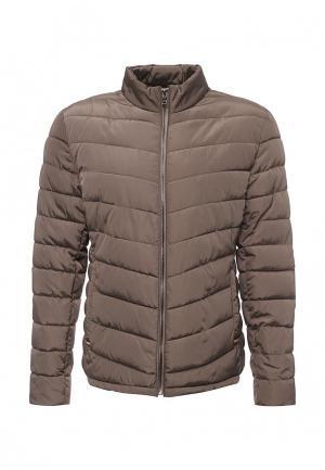 Куртка утепленная Deblasio. Цвет: коричневый