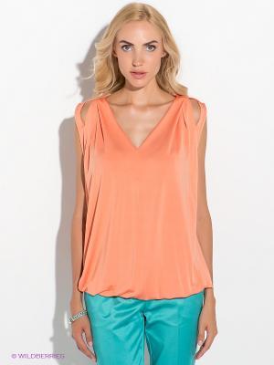 Топ GUESS. Цвет: светло-оранжевый