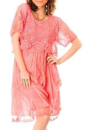Платье LES GAMINES DE PARIS. Цвет: красный