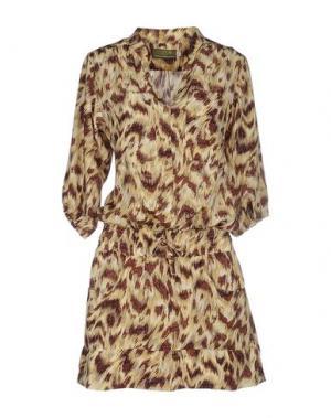 Короткое платье CIEL. Цвет: желтый