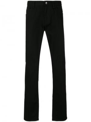 Брюки прямого кроя Dolce & Gabbana. Цвет: чёрный