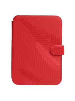 Чехол-книжка Norton универсальный 6 (180х127 мм) с уголками (красный карбон) Norton.. Цвет: красный