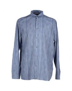 Pубашка NICOLE FARHI. Цвет: темно-синий